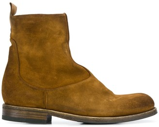 Pantanetti side zip ankle boots
