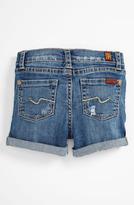 7 For All Mankind Denim Shorts (Infant)