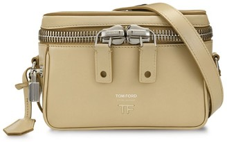 Tom Ford Leather Metro Box Shoulder Bag