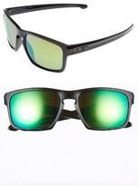 Oakley Men's Sliver H2O 57Mm Polarized Sunglasses - Black