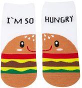 Forever 21 FOREVER 21+ I'm So Hungry Burger Socks