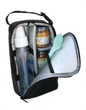 J L Childress Pack N Protect Cooler Bag for Glass Bottles and Containers