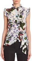 Erdem Maha Sleeveless Top