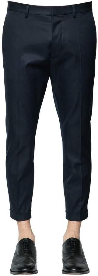 DSQUARED2 16.5cm Hockney Cotton Twill Pants