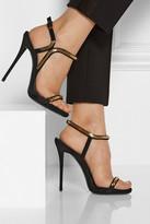Giuseppe Zanotti Coline chain-trimmed suede sandals