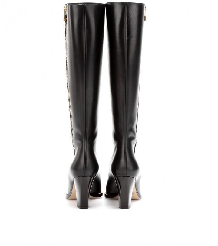 Chloé Beatriz leather knee boots