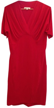 Carven Red Cotton - elasthane Dress for Women