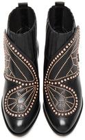 Sophia Webster Karina Butterfly Boots in Black.