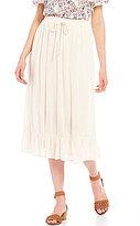 Bobeau Pull-On Maxi Skirt