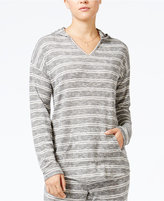 Hippie Rose Juniors' Striped Pullover Hoodie