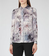 Reiss Mia Printed Shirt