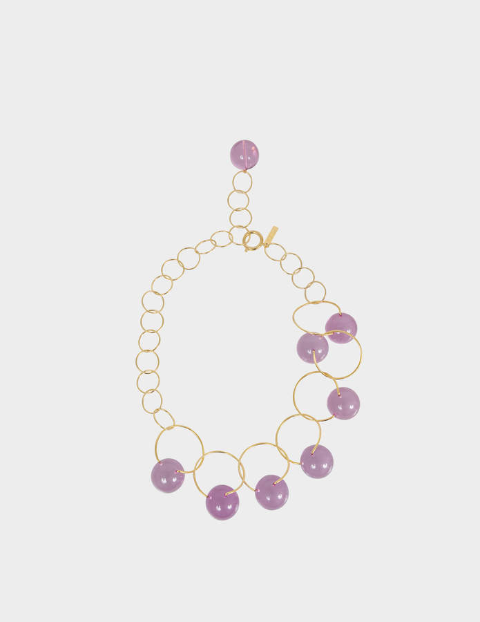 Marni Necklace in metal and spheres