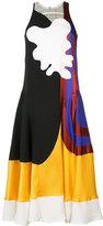 Roksanda abstract art print dress - women - Silk/Linen/Flax/Polyamide/Viscose - 8