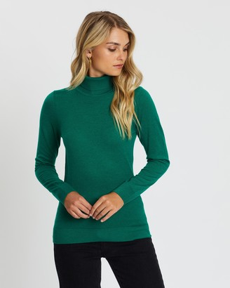 Atmos & Here Kate Turtle Neck Knit