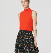 LOFT Garden Pintucked Skirt