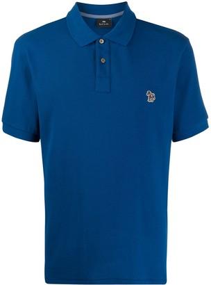 Paul Smith Embroidered Logo Polo Shirt