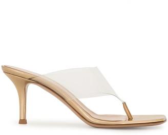 Gianvito Rossi Invisible-Strap Sandals