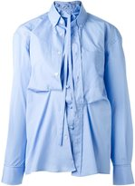 Golden Goose Deluxe Brand double poplin shirt