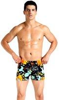 YOUJIA Square Leg Short Swim Suit Boxer Men's Bikinis Shorts (2XL,)