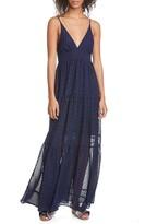 le superbe Starry Night Embellished Maxi Dress