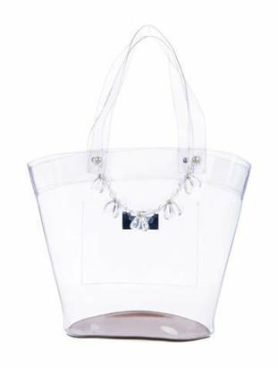 Simone Rocha PVC Bucket Bag Clear