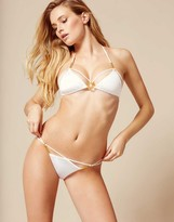 Agent Provocateur CeeCee Bikini Top White