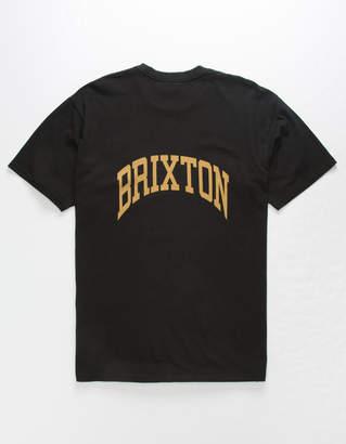 Brixton Forte V Worn Wash Mens T-Shirt