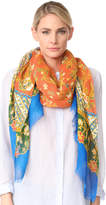 Tory Burch Batik Wave Oblong Scarf