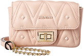 Mario Valentino Valentino By Papillon D Sauvage Studs Leather Crossbody