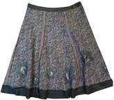 Stella Forest Grey Cotton Skirt for Women