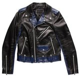 99% Is Leather Moto Jacket