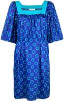 Saint Laurent Pre Owned circle print dress