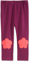 First Impressions Baby Girls' Flower-Patch Leggings, Only at Macy's