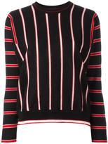 MAISON KITSUNÉ striped jumper