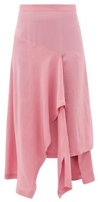 Colville - Draped Poplin Skirt - Pink