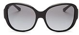 Tory Burch Polarized Square Sunglasses, 56mm