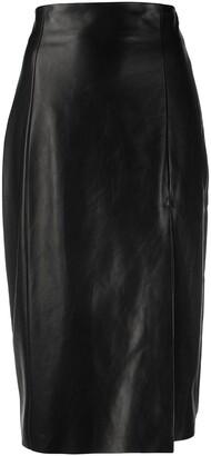 Drome Front-Slit Mini Skirt