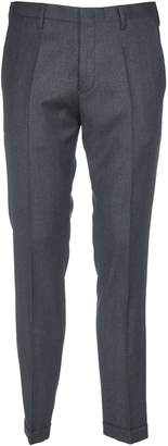 Paul Smith Dark Grey Trousers With Side Slash Pocket