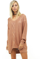 Somedays Lovin Some Days Lovin The Patti Knit Tunic in Blush