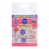 Curash Fragrance Free Baby Wipes Value Pack 240 wipes