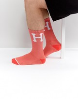 HUF Socks With Large Logo