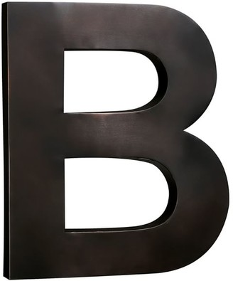 Pottery Barn Metal Letters - Bronze