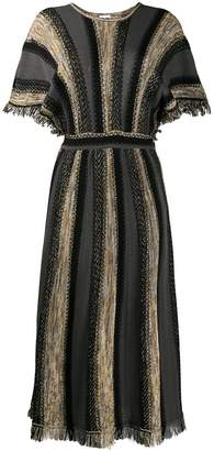 M Missoni striped long dress