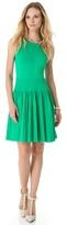 Milly Josephine Pleated Dress