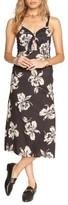 Amuse Society Women's Maude Tie Front Midi Dress
