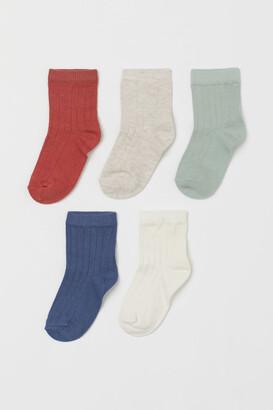 H&M 5-pack Socks - Orange