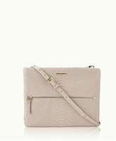 GiGi New York Crossbody Bag Embossed Python