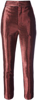 Haider Ackermann Phoenix Gun cropped trousers - women - Silk/Nylon/Polyester/Wool - 40