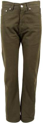 Jil Sander \N Green Cotton Jeans