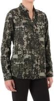 Jag Roan Extra-Long Shirt - Hidden-Button Front, Long Sleeve (For Women)